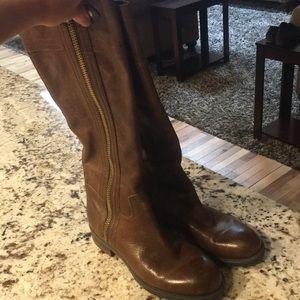 Franco Sarto brown riding boots, 7.5/8